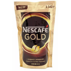 Кофе NESCAFE Gold растворимый с добавл.натур.150г.